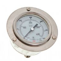 (001) 63mm Premier Panel Mount Oxygen Pressure Gauge